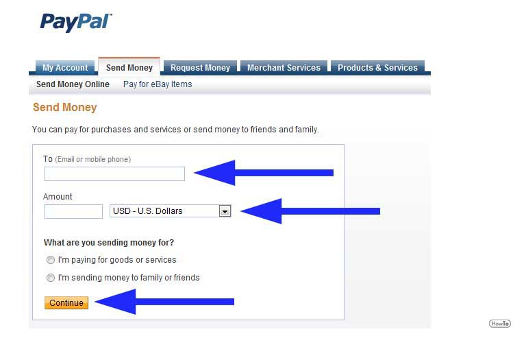 Once They Sign In To Their Paypal Account Using Email Lid And The Pword Can Send Money Your Address By Typing