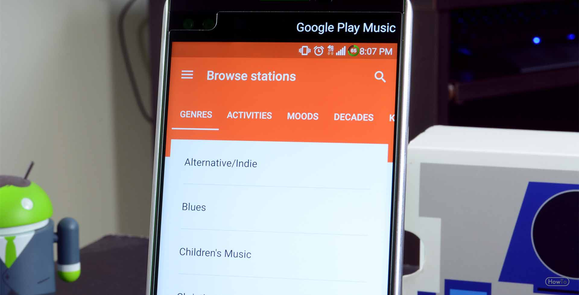 how to sign out from google account in android device