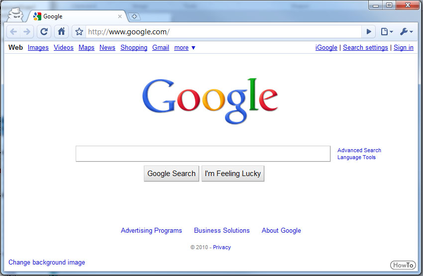 6 Steps to Change Google Chrome Background - Howto