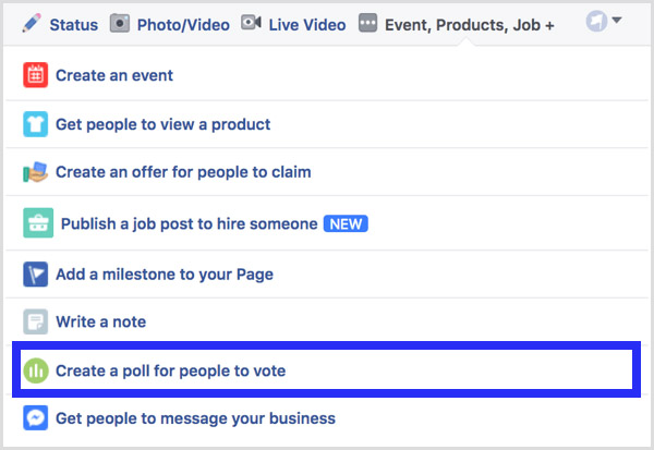 8 Steps to Creating a Poll on Your Facebook Page - Howto