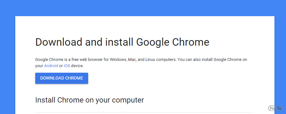 Google Chrome Download Mac