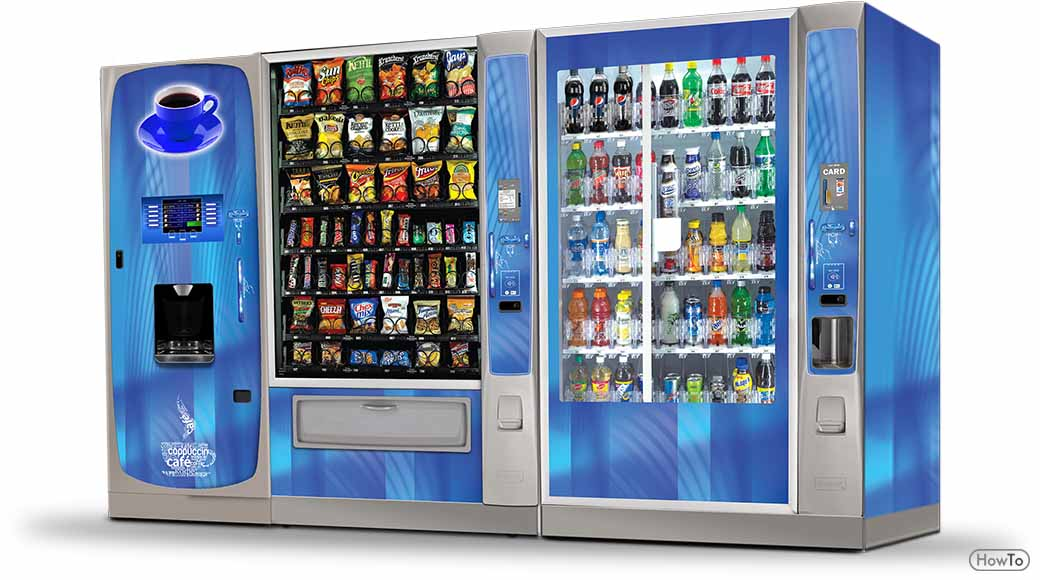 7 Steps to Follow to Hack the Vending Machine in School - Howto