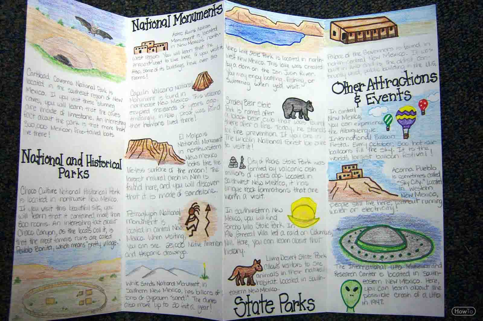 20 New For Handmade Travel Brochure School Project Deney Budak