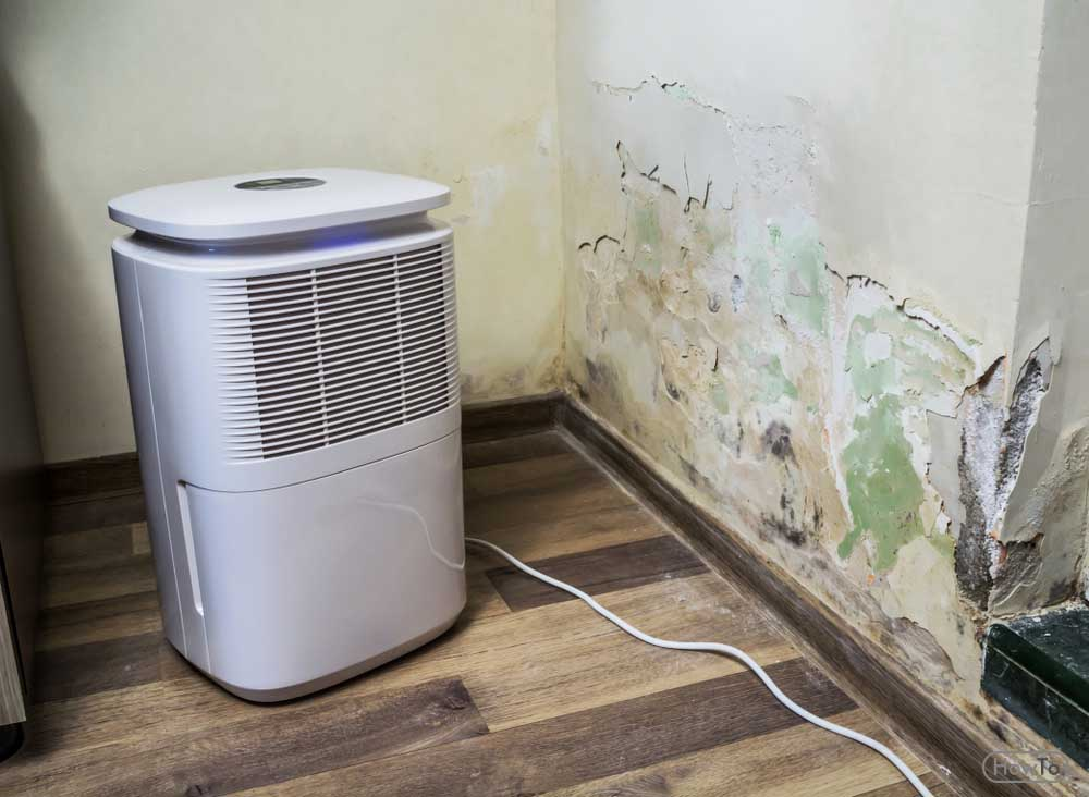 How to Dehumidify a House Drying Powder
