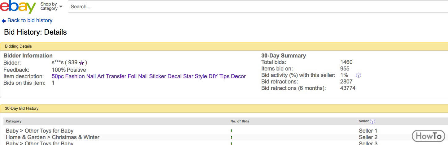 5 Steps To Retract Your Bid On Ebay Steps To Make It Howto