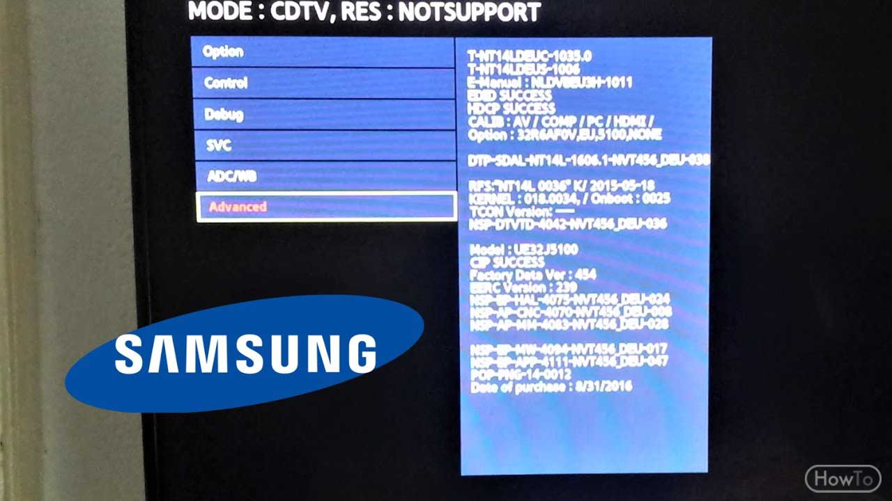 5 Easy Steps on How to Factory Reset Samsung TV - Howto
