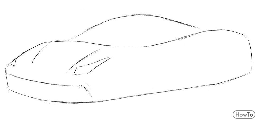 Ferrari Outline