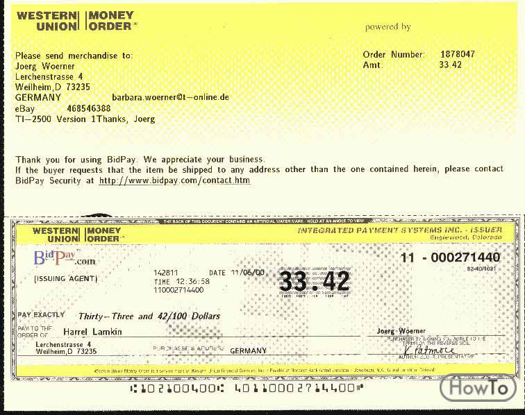 How to Fill Out a Western Union Money Order in 5 Steps - Howto