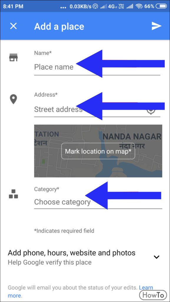 How to Add Location on Google Maps 10 Simple Processes - Howto Adding Location To Google Maps on