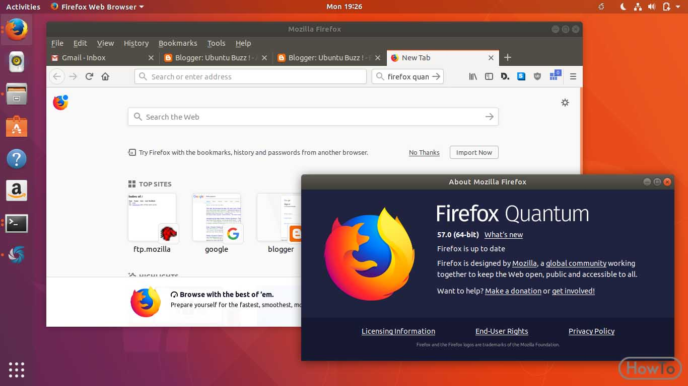 How to Update Mozilla Firefox (And Check Updates) - Howto