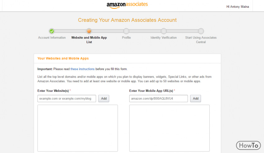 how to become a amazon affiliate