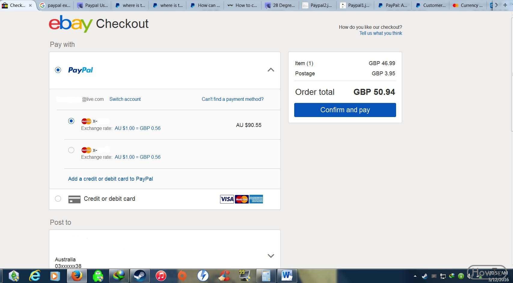 How To Change Credit Card On Ebay 3 Ways To Change On Ebay Howto