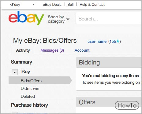 How To Change Your Ebay Name 5 Steps To Update Your Name Howto
