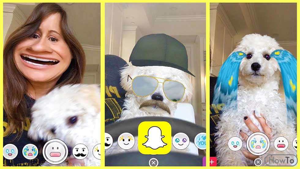 How to do Snapchat Filters 3 Simple Ways to Create Filters - Howto