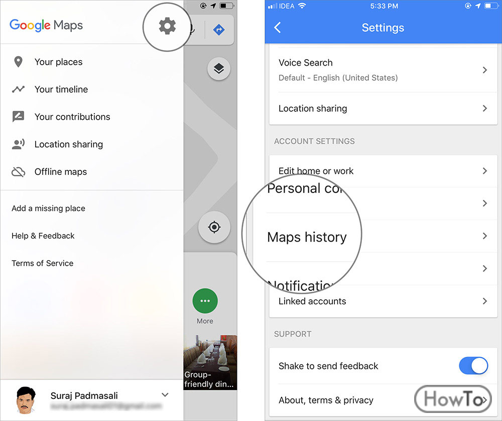How to Delete Maps History 3 Ways You Delete Your History - Howto