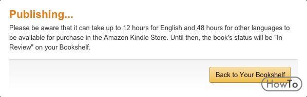 How to Publish on Amazon 5 Steps to Publish on Amazon - Howto